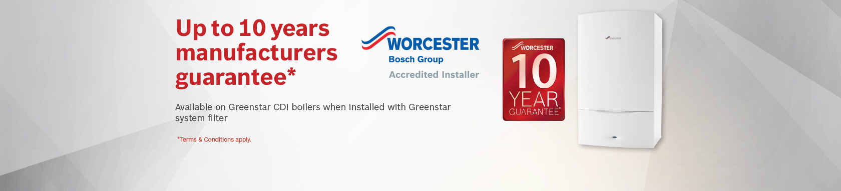 Worcester Boiler Guarantee Westbury-on-Trym